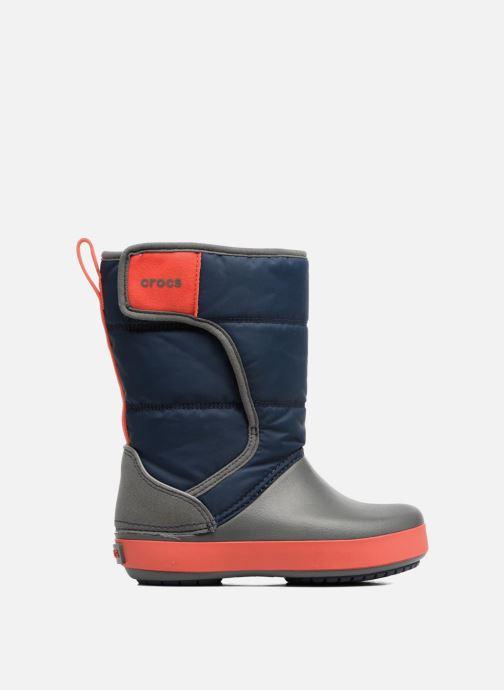 Sportschuhe Crocs LodgPoint Snow Boot K blau ansicht von hinten