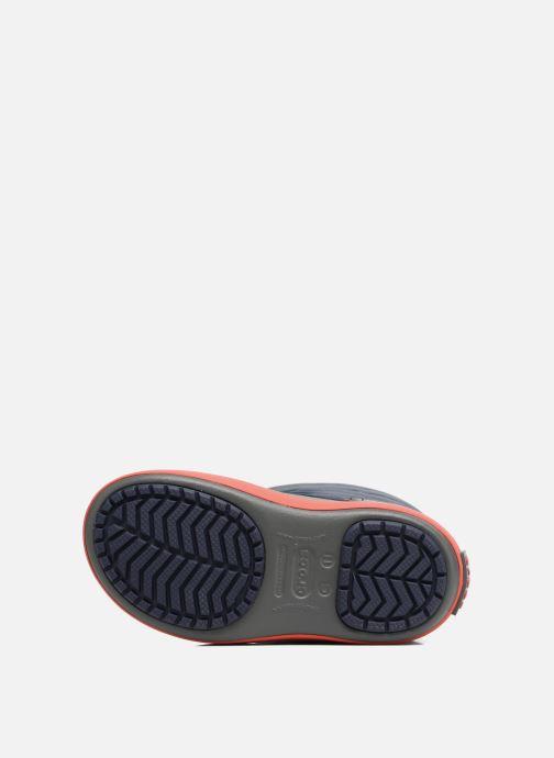 Sportschuhe Crocs LodgPoint Snow Boot K blau ansicht von oben