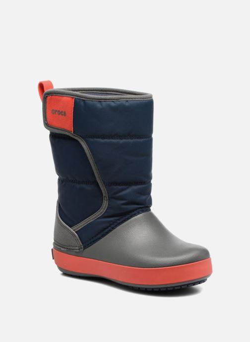 Sportschoenen Crocs LodgPoint Snow Boot K Blauw detail