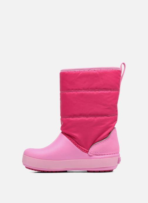 Chaussures de sport Crocs LodgPoint Snow Boot K Rose vue face