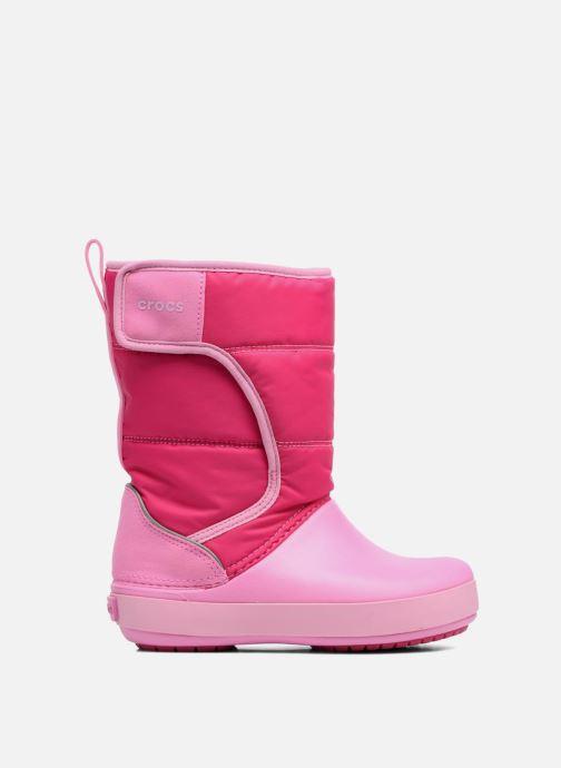 Chaussures de sport Crocs LodgPoint Snow Boot K Rose vue derrière