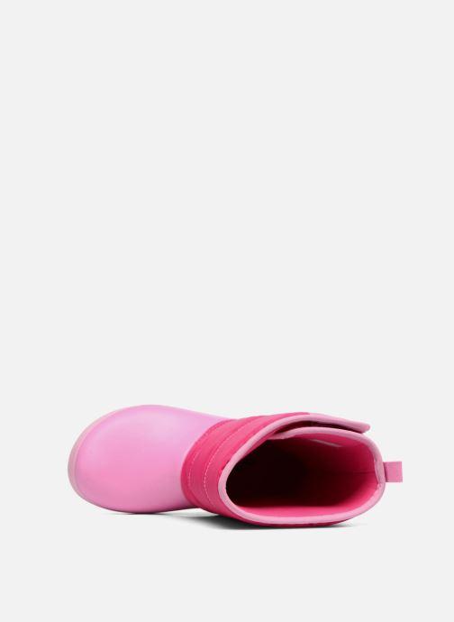 Chaussures de sport Crocs LodgPoint Snow Boot K Rose vue gauche