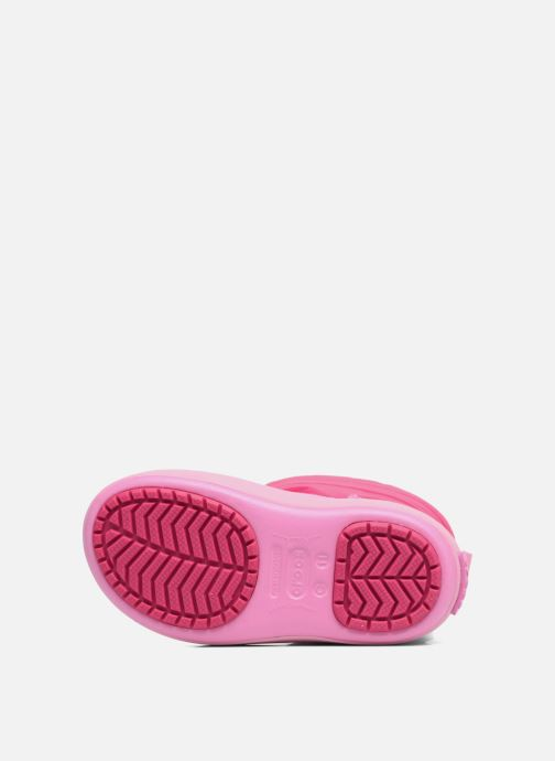 Chaussures de sport Crocs LodgPoint Snow Boot K Rose vue haut