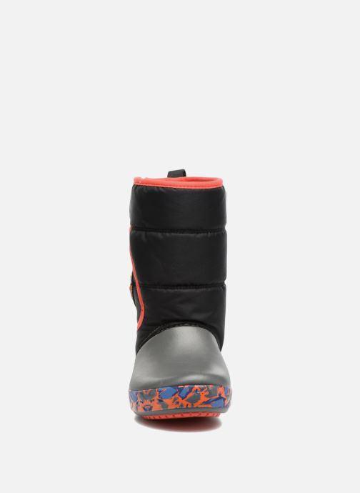 Chaussures de sport Crocs CrocsLodgePt Lights RoboRex Noir vue portées chaussures