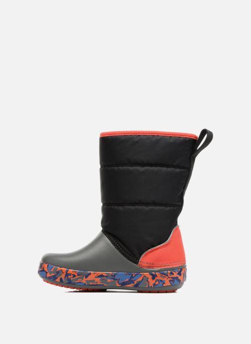 Chaussures de sport Crocs CrocsLodgePt Lights RoboRex Noir vue face