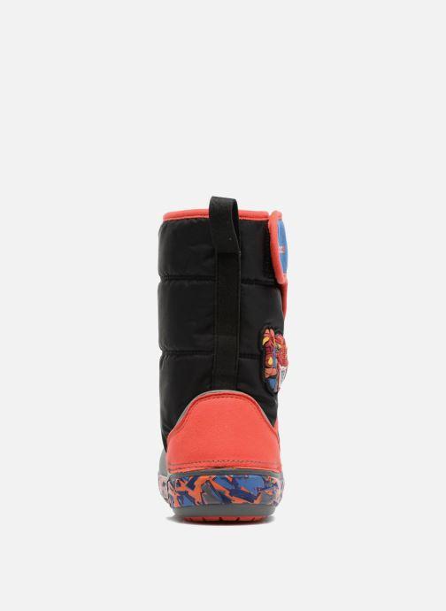 Chaussures de sport Crocs CrocsLodgePt Lights RoboRex Noir vue droite