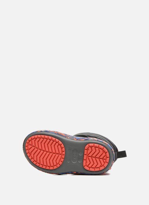Chaussures de sport Crocs CrocsLodgePt Lights RoboRex Noir vue haut