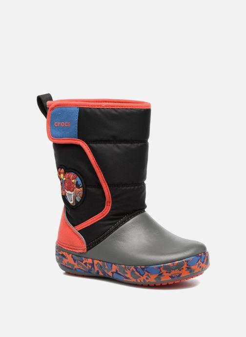 Chaussures de sport Crocs CrocsLodgePt Lights RoboRex Noir vue détail/paire