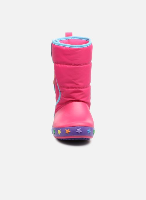 Sportschoenen Crocs CrocsLodgePt Lights Star Roze model