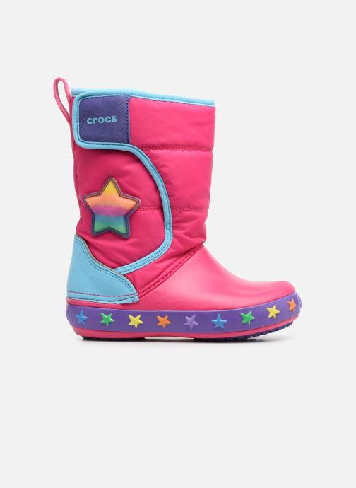 Sportschuhe Crocs CrocsLodgePt Lights Star rosa ansicht von hinten