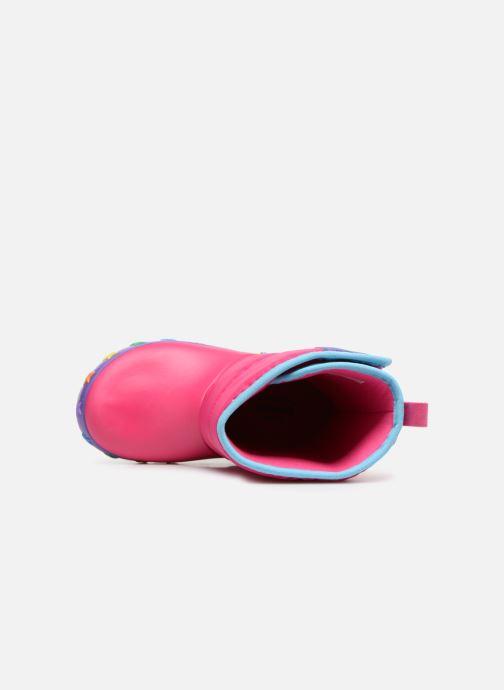Chaussures de sport Crocs CrocsLodgePt Lights Star Rose vue gauche
