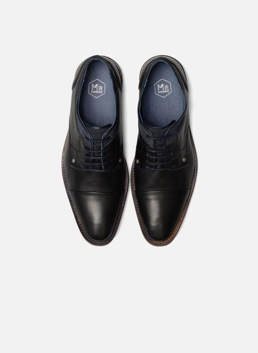 Schnürschuhe Mr SARENZA Walber schwarz schuhe getragen