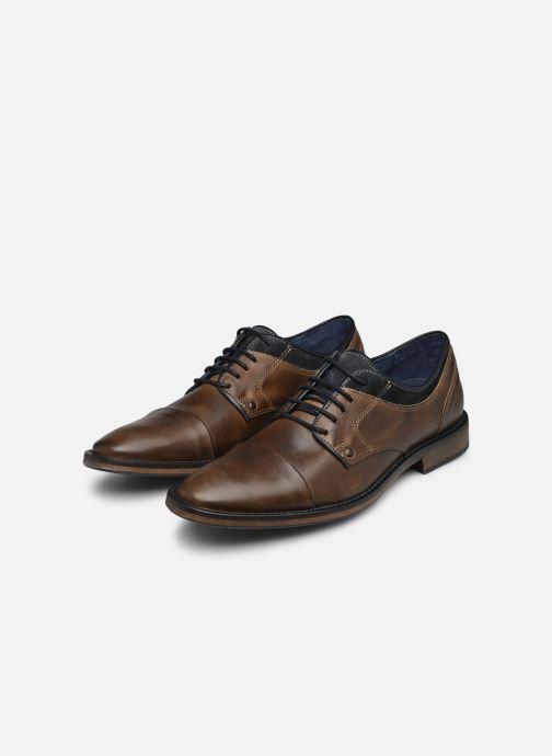 Chaussures à lacets Mr SARENZA Walber Marron vue bas / vue portée sac