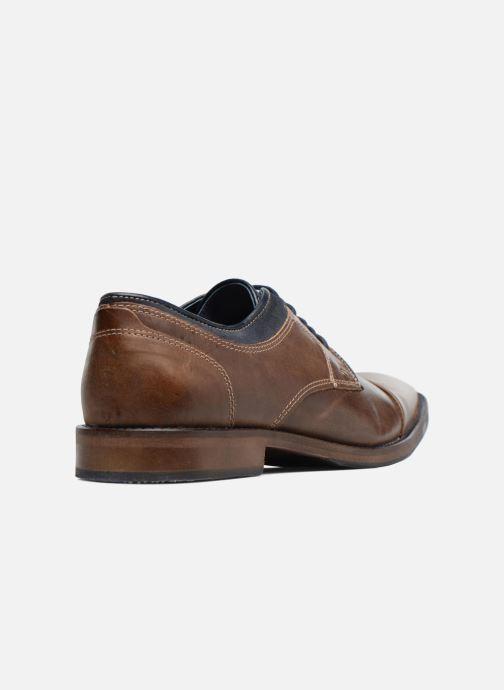 Chaussures à lacets Mr SARENZA Walber Marron vue face
