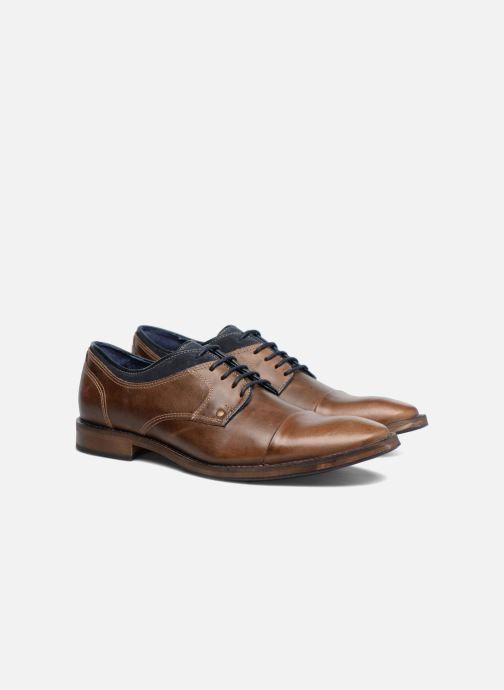 Zapatos con cordones Mr SARENZA Walber Marrón vistra trasera