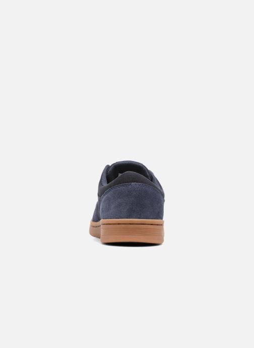 Chaussures de sport Supra Chino Court Bleu vue droite