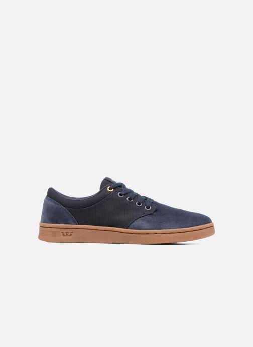 Chaussures de sport Supra Chino Court Bleu vue derrière