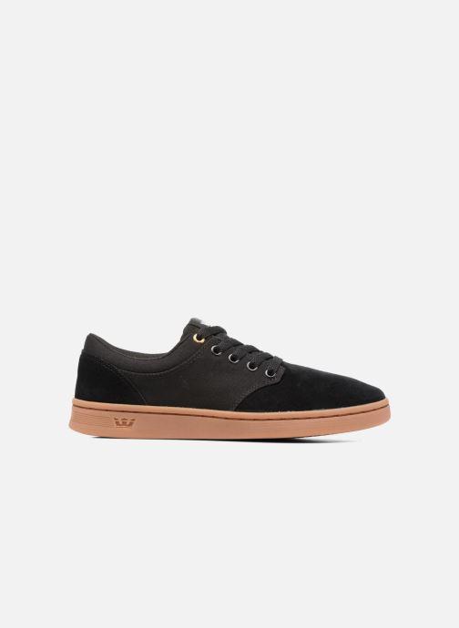 Chaussures de sport Supra Chino Court Noir vue derrière