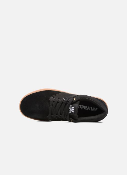 Chaussures de sport Supra Chino Court Noir vue gauche