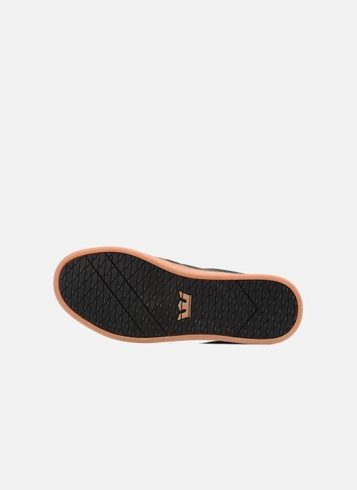 Chaussures de sport Supra Chino Court Noir vue haut