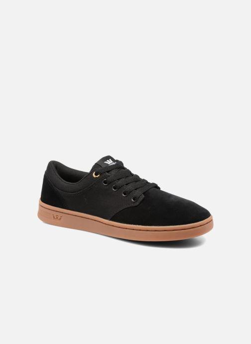 Chaussures de sport Supra Chino Court Noir vue détail/paire