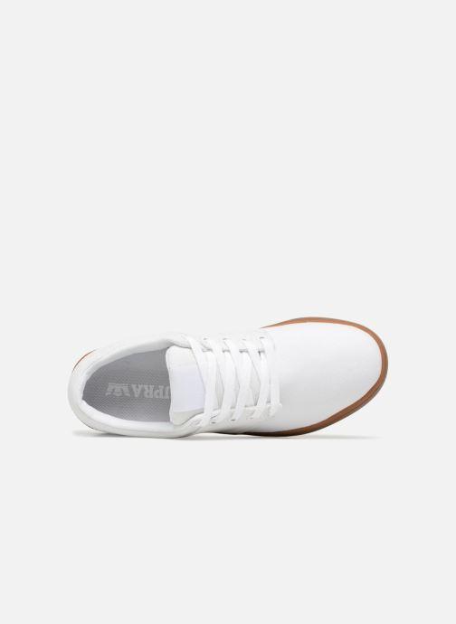 Zapatillas de deporte Supra Chino Court Blanco vista lateral izquierda