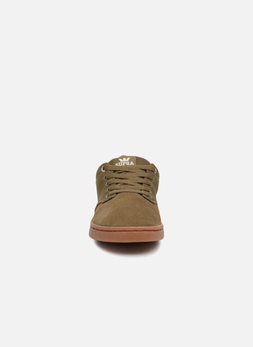 Chaussures de sport Supra Chino Court Vert vue portées chaussures