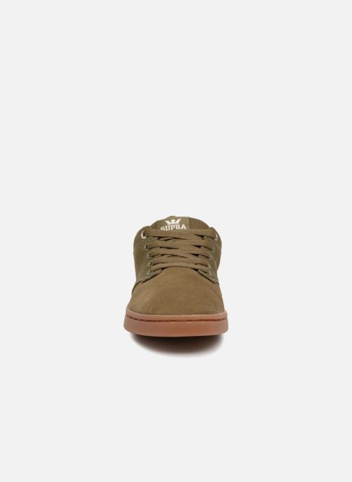 Sport shoes Supra Chino Court Green model view