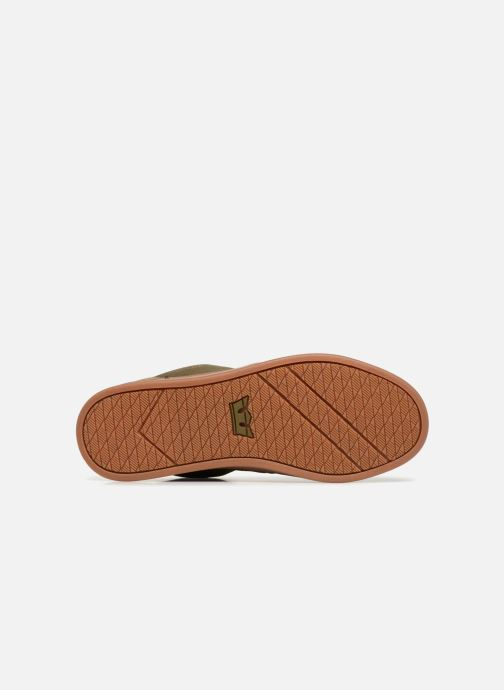Chaussures de sport Supra Chino Court Vert vue haut