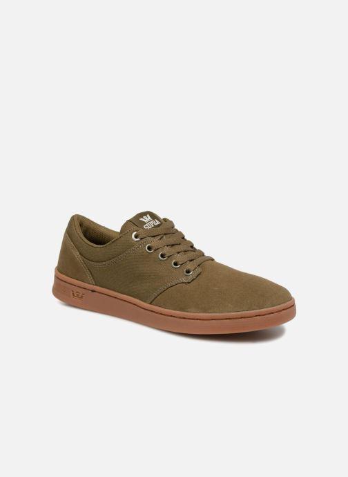 Chaussures de sport Supra Chino Court Vert vue détail/paire