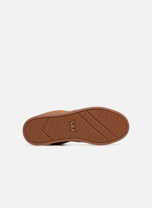 Chaussures de sport Supra Chino Court Marron vue haut