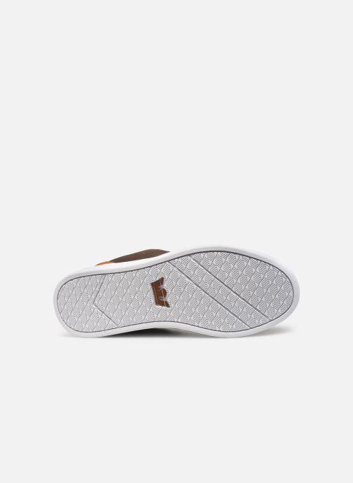 Zapatillas de deporte Supra Chino Court Marrón vista de arriba