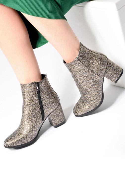 Stiefeletten & Boots Vero Moda Tulle boot mehrfarbig ansicht von unten / tasche getragen