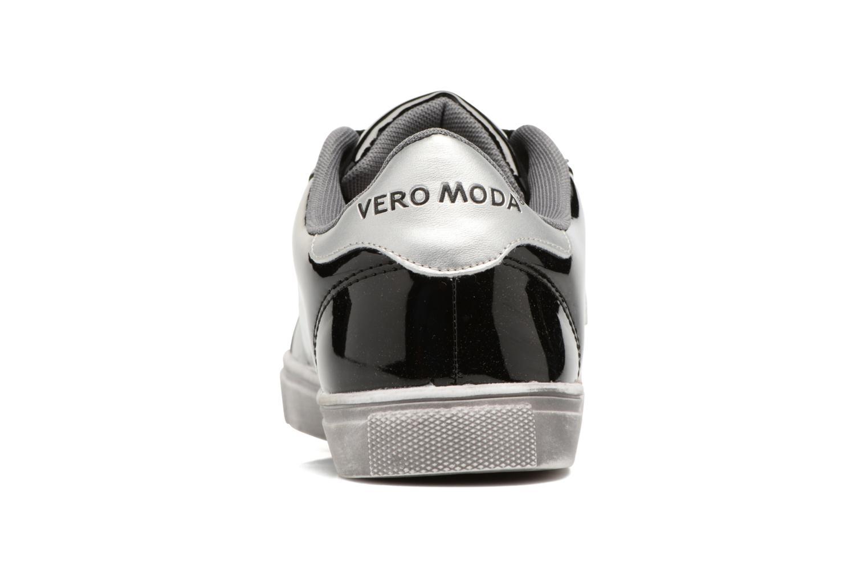 Baskets Vero Moda Star Sneaker Noir vue droite