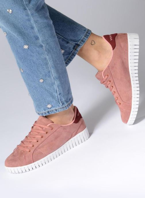 Deportivas Vero Moda Sally Sneaker Rosa vista de abajo