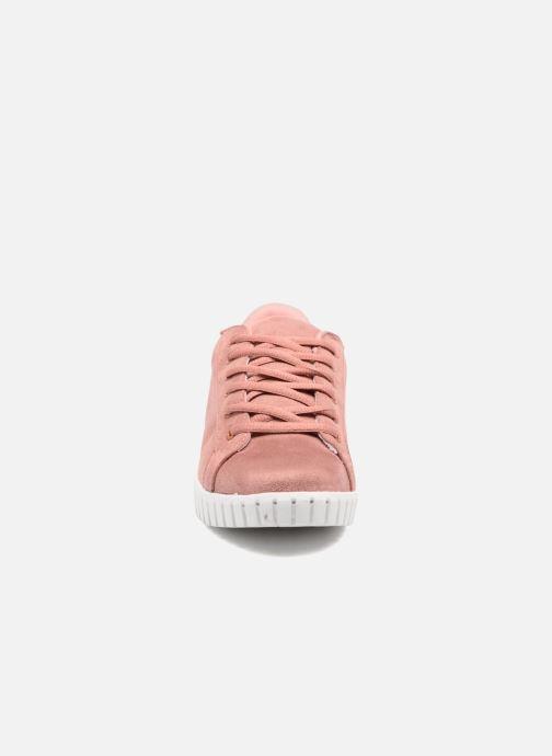 Baskets Vero Moda Sally Sneaker Rose vue portées chaussures