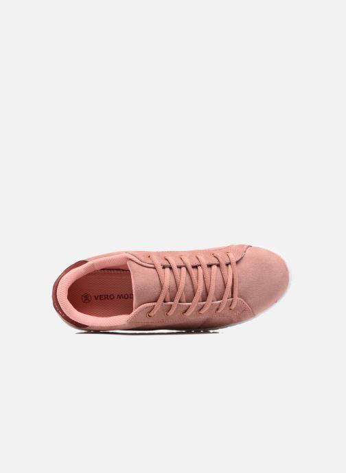 Deportivas Vero Moda Sally Sneaker Rosa vista lateral izquierda