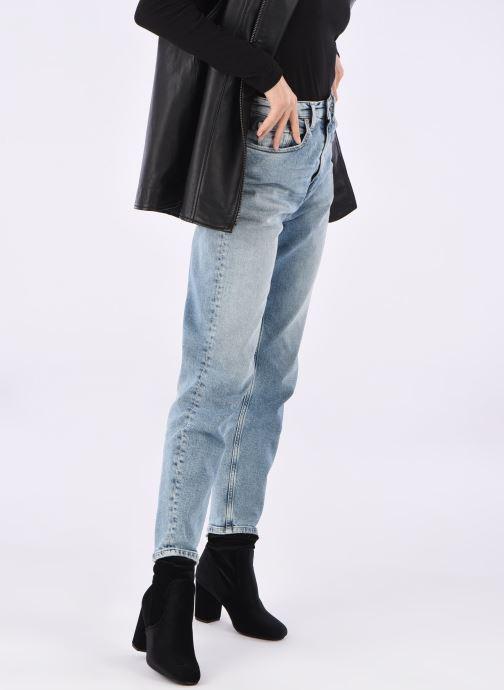 Stiefeletten & Boots Vero Moda Lela boot schwarz ansicht von unten / tasche getragen