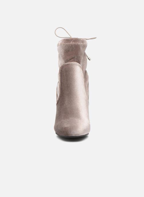 Bottines et boots Vero Moda Lela boot Gris vue portées chaussures