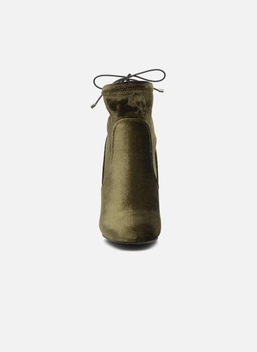 Bottines et boots Vero Moda Lela boot Vert vue portées chaussures