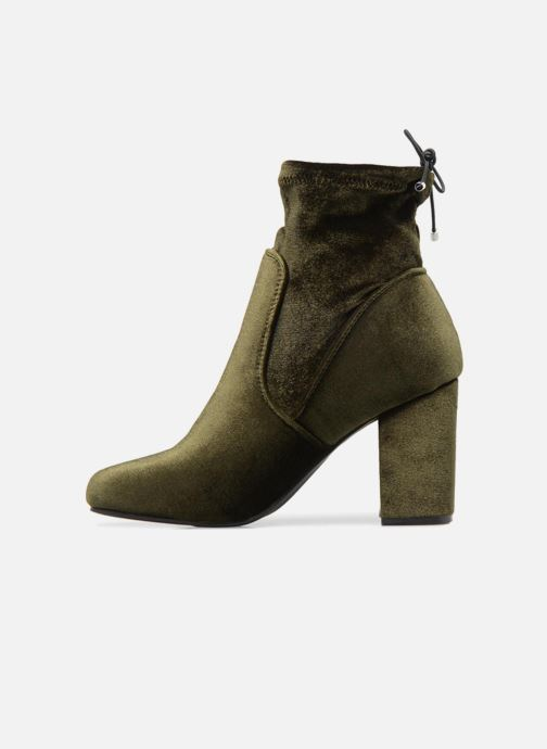 Bottines et boots Vero Moda Lela boot Vert vue face