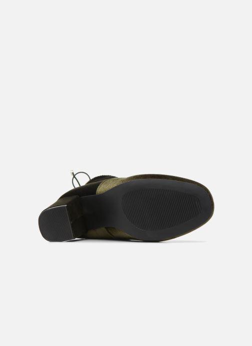 Bottines et boots Vero Moda Lela boot Vert vue haut