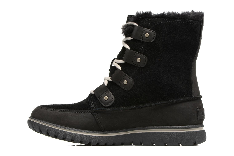 Sport shoes Sorel Cozy Joan Black front view