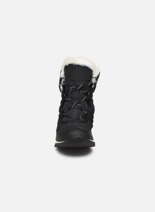 Zapatillas de deporte Sorel Whitney Short Lace Negro vista del modelo