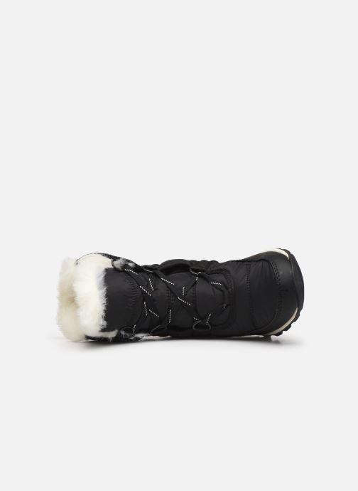 Chaussures de sport Sorel Whitney Short Lace Noir vue gauche