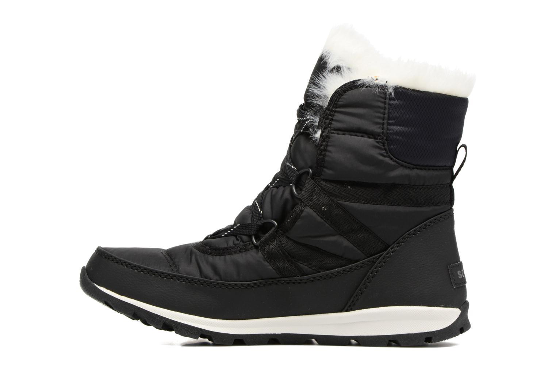 Sport shoes Sorel Whitney Short Lace Black front view