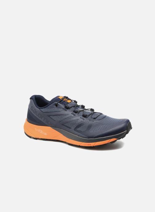 reputable site c01a7 8d22b Chaussures de sport Salomon Sense Ride Bleu vue détail paire
