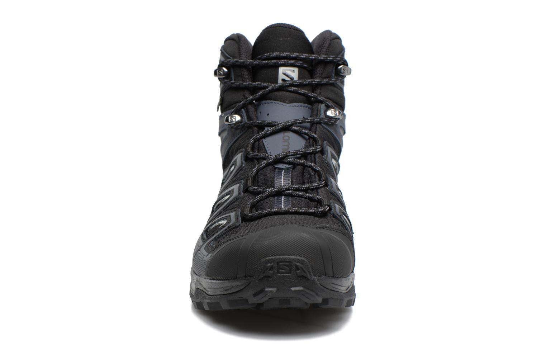 Chaussures de sport Salomon X Ultra 3 Mid Gtx Noir vue portées chaussures