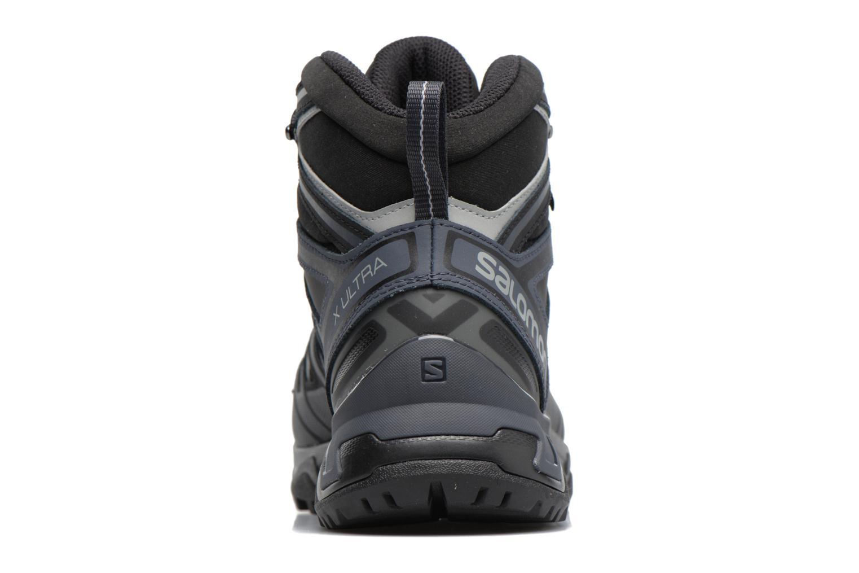 Chaussures de sport Salomon X Ultra 3 Mid Gtx Noir vue droite