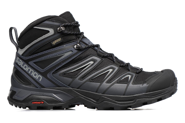 Chaussures de sport Salomon X Ultra 3 Mid Gtx Noir vue derrière
